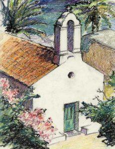 Panagia kirke i Loutro - Oliekridt