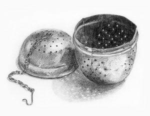 Tesi - Blyantstegning